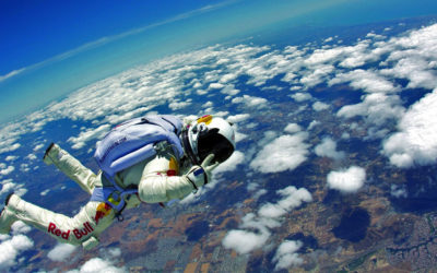 Felix Baumgartner didn't feel a thing